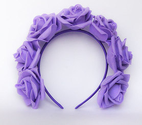 OPASKA DUŻA fioletowa