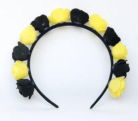 OPASKA MAŁA czarno żółta