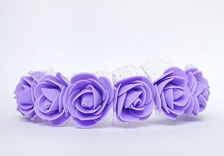 OPASKA MAŁA fioletowa z tiulem (2)