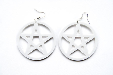 RÓŻOWE PENTAGRAMY, PASTEL GOTH, GOTH, PENTAGRAM, SATAN, CREEPY, HALLOWEEN, CUTE CREEPY, GOTH, GOTHIC, ROCK,