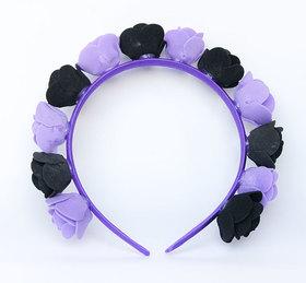OPASKA MAŁA czarno fioletowa