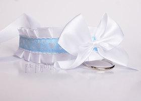 OBRÓŻKA Love Kitty biało niebieska