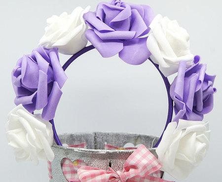 OPASKA DUŻA biało fioletowa (1)