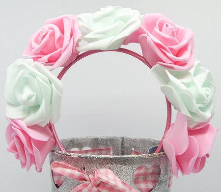 OPASKA DUŻA miętowo różowa (1)