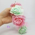 OPASKA Różowo-miętowa z kolcami (2)